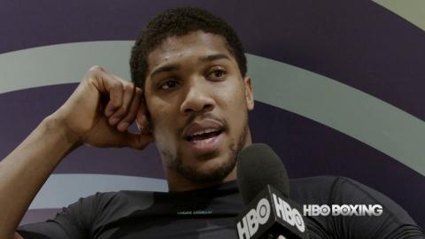 HBO Boxing News: Anthony Joshua Interview (HBO Boxing)