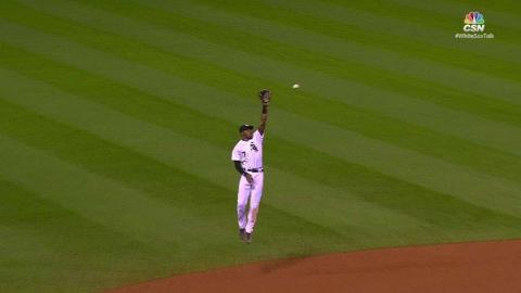 DET@CWS: Anderson leaps for liner, seals 8-2 victory