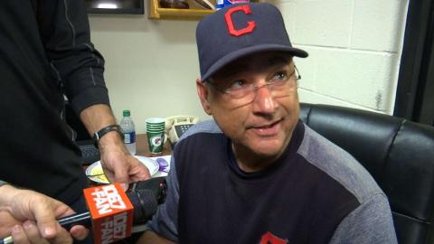 CLE@BAL: Francona discusses the Indians' 5-1 win