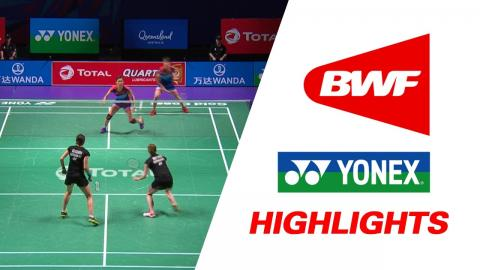 TOTAL BWF Sudirman Cup 2017 | Badminton Day 3 Grp 1C-MAS vs GER – Highlights
