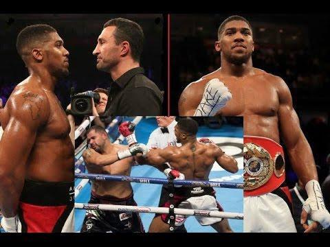 Anthony Joshua vs Eric Molina IBF Title Fight Review & Thoughts On Klitschko Unification @ Wembley