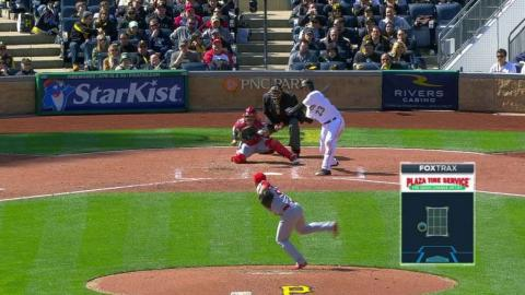 STL@PIT: Oh records first career strikeout