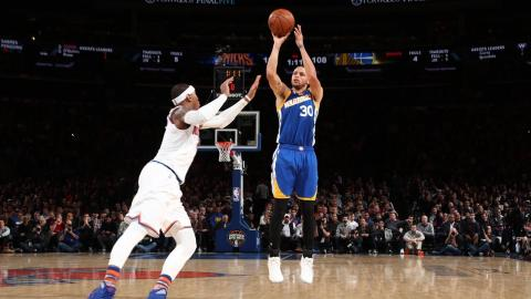 Stephen Curry hits Five Three Pointers to Move into 10th All Time in Three Pointers Made   03.05.17