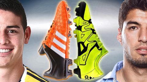 Rodriguez VS Suarez - Boot Battle: adidas ACE vs X - Test & Review
