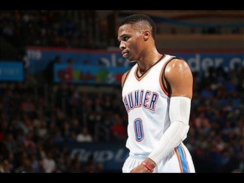 Russell Westbrook Hammers Three Monster Dunks