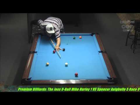 2014 Joss Tour Mike Hurley VS Spencer Augibelle at Premium Billiards, NY