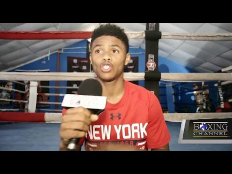 Shakur Stevenson I Am Prepared For A Six Round Massacre