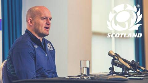 Gregor Townsend Squad Announcement | NatWest 6 Nations
