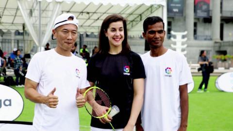 Badminton Unlimited   Carolina Marin La Liga Ambassador