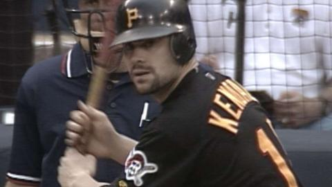 Jason Kendall hits for the cycle in 2000