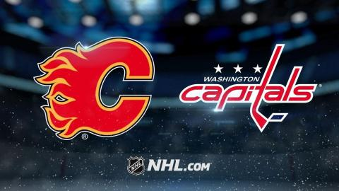 Smith, Flames take down Capitals, 4-1
