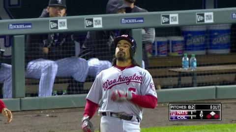 WSH@COL: Rendon lines an RBI single to right field