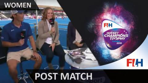 USA's coach, Craig Parnham talks us through the match as his side wins the bronze medal match