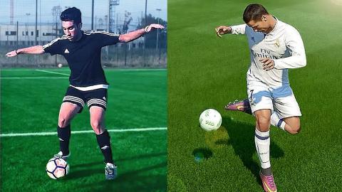 FIFA 17 vs REAL-LIFE - Skills Tutorial