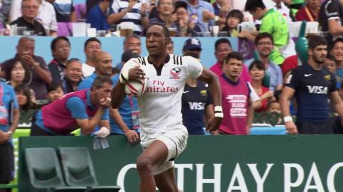 Perry Baker wins World Rugby Sevens Top Try Scorer of 2016-17