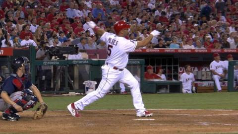 BOS@LAA: Pujols passes Schmidt with his second homer