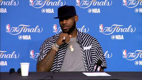 Lebron James NBA Finals Game 4 Press Conference