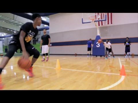 Basketball Drills With ILoveBasketballTv - Live From Basketball Camp!