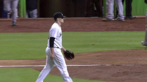 PIT@MIA: Koehler escapes bases-loaded jam in the 5th