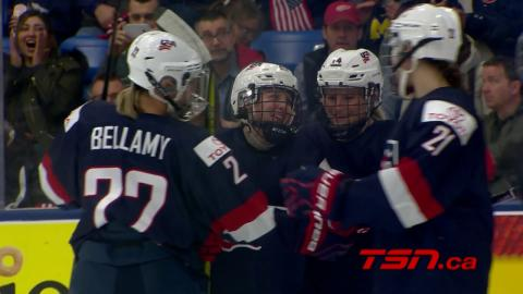 2017 WWC: Highlights from Team USA's victory over Germany