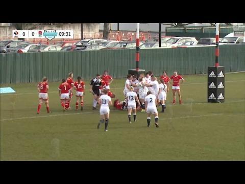 England Women 27 - 20 Canada Women, highlights