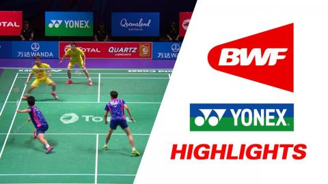 TOTAL BWF Sudirman Cup 2017 | Badminton SF – KOR vs THA – Highlights