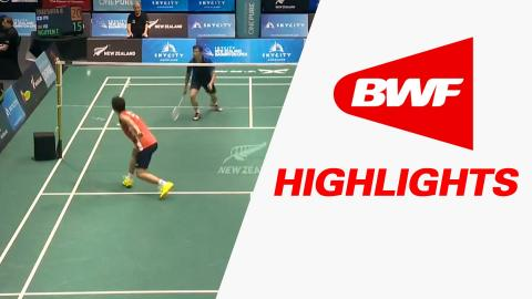 SKYCITY New Zealand Open 2016 | Badminton SF – Highlights