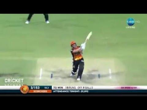 Perth Scorchers v Sydney Sixers, BBL|07