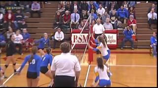Wayzata Vs. Minnetonka Section 6AAA High School Volleyball