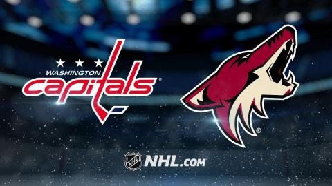 Keller scores in OT as Coyotes rally past Caps, 3-2