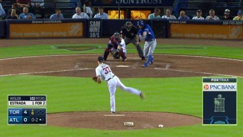 TOR@ATL: Wisler fans Estrada in the 6th inning