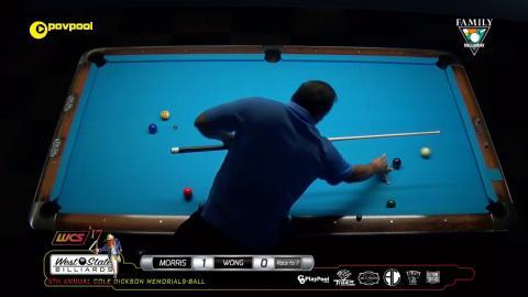 #11 • Rodney MORRIS vs Delbert WONG / 2017 Cole Dickson 9-Ball
