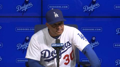 SF@LAD: Roberts on Urias, rest of the bullpen