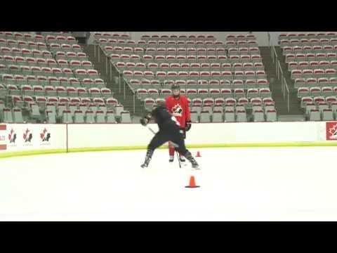 HCN Drill of the Month: Puck Protection Progression 2