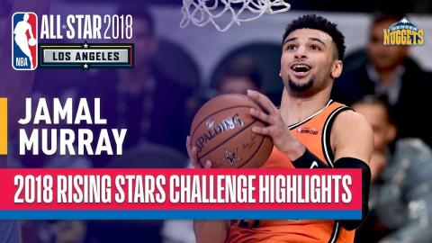 Jamal Murray 2018 Rising Stars Highlights | Presented by Mtn Dew Kickstart