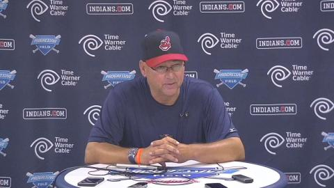 NYY@CLE: Francona discusses Tribe's extra-innings win