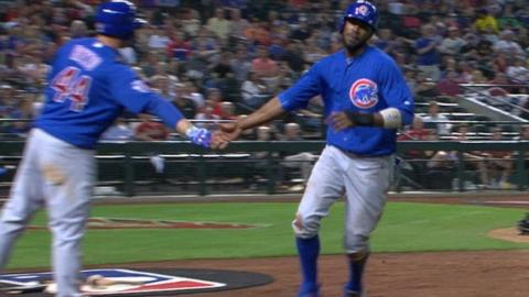 CHC@ARI: Cubs plate five runs in the 4th inning