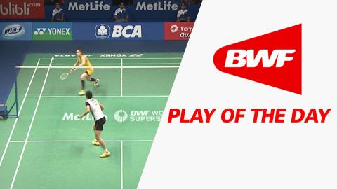 Play Of The Day | Badminton SF – BCA Indonesia Open 2016