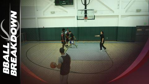 Basketball Sets: Floppy C Sideline Out Of Bounds