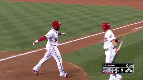 ATL@WSH: Goodwin belts a solo homer to center field