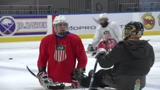 Five Tips On Sled Hockey With U.S. National Sled Hockey Player Brody Roybal
