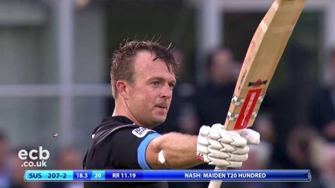 Sussex v Somerset NatWest T20 Blast Highlights