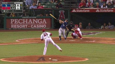 SEA@LAA: Seager goes yard to level the score