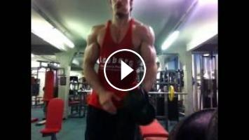 eae1db0a LEX - 2 weeks out training and posing | Lex Fitness