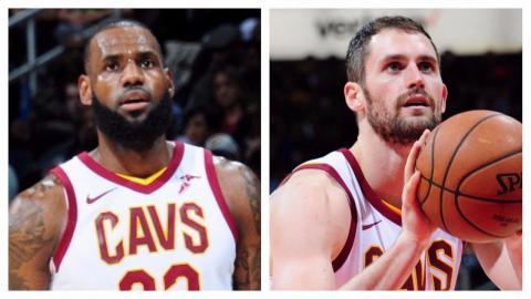 LeBron James and Kevin Love Lead Cavs Over Hawks   November 30, 2017