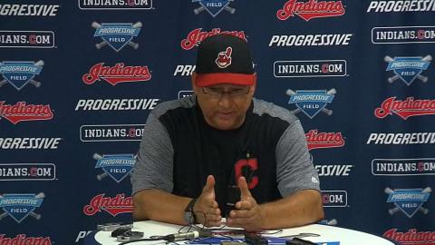 BOS@CLE: Francona discusses the 5-4 walk-off win