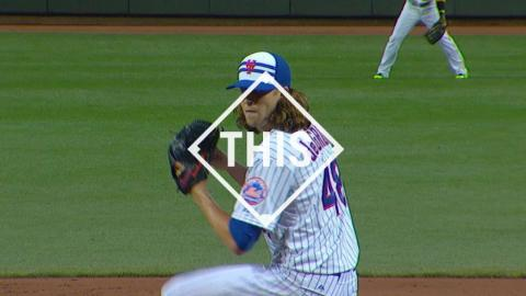 #THIS: deGrom K's the side in his All-Star Game debut
