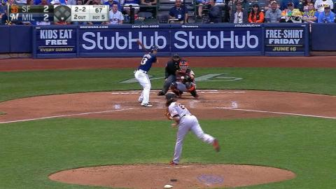 SF@MIL: Check out Samardzija's 10 K's in 10 seconds