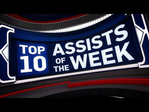 Top 10 Assists of the Week 1.30.2017 - 2.4.2017