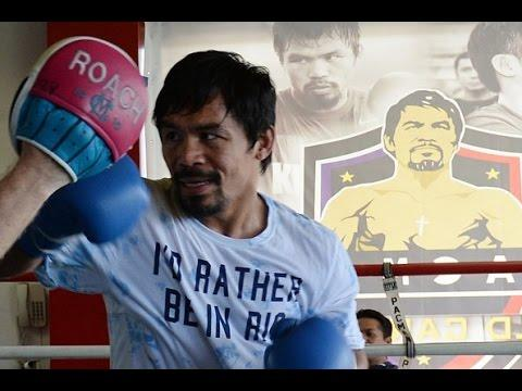 Manny Pacquiao Looking Great In Training Camp For Tim Bradley !! Floyd Mayweather Rematch ??